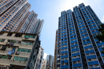 Hongkong Hochhäuser