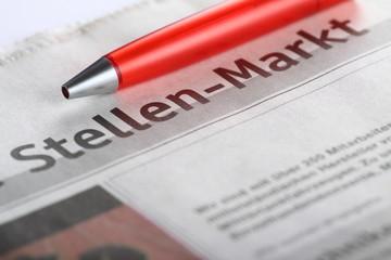 Stellenmarkt Zeitung
