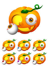 Halloween 002 - Jack-o'-lantern (Pumpkin) 2
