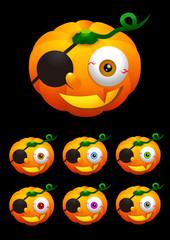 Halloween 003 - Jack-o'-lantern (Pumpkin) 3