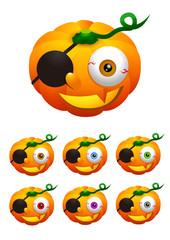 Halloween 004 - Jack-o'-lantern (Pumpkin) 4