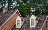 Two Dormers on Wood Shingle Roof