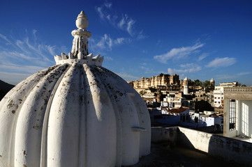 Rooftop View of Udaipur