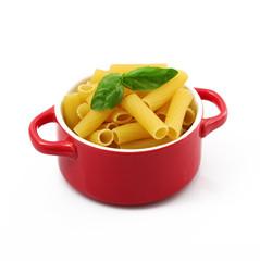 pasta italiana in pentola