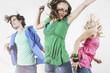 Deutschland, junge Menschen tanzen Party