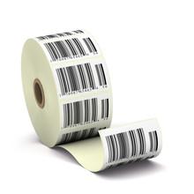 Etykiety codebarre, kod kreskowy na rolce - Salda