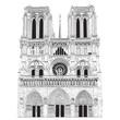Vector image of Notre Dame de Paris - 25441491