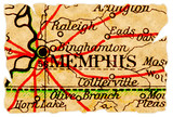 Memphis old map