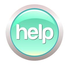 Webdesign Button -Help