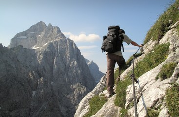 sierra trail in Julian Alps