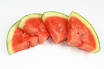 Watermelon Slices Rounded Triangle