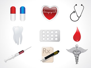 abstract medical icons