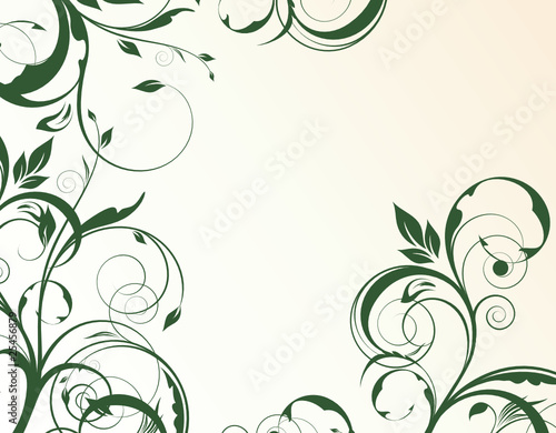floral abstraction for design