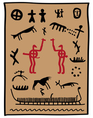 viking petroglyphs