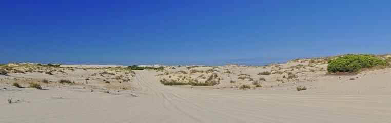 Dunas en el Parque Nacional de Doñana,Andalucia,España