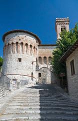 Torrione di Porta Santa Maria. Corciano. Umbria.