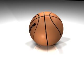 Balón Baloncesto 3d