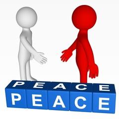 Cubes - PEACE