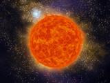 soleil et galaxie poster