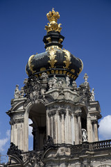 The Kronentor at the Zwinger Palace in Dresden