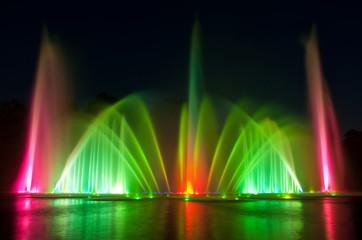 Wasserspiele in Hamburg