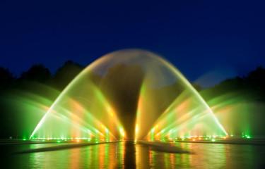 Wasserlichtkonzert im Planten un Blomen (Hamburg)