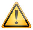 "Hazard Sign ""Danger Ahead - Caution"""