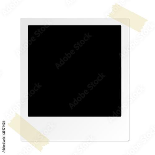Polaroid adhesive