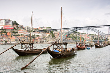 Barcos da Ribeira do Porto