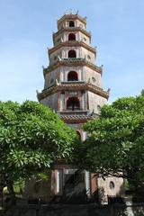 Thien Mu Pagoda of Hue City