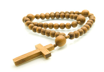 Close-up of Rosary beads