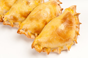 Group of traditional empanadas