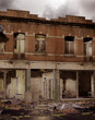 Ruiny budynku