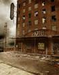 Ruiny hotelu
