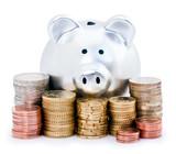Fototapeta pieniądze - euro - Pieniądze / Banknoty / Karta Kredytowa