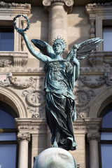 Vienna - statue on the Maria Theresia square