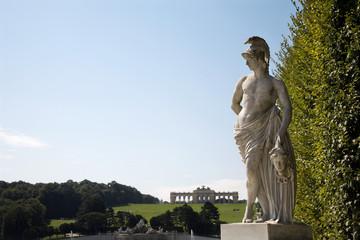 Vienna - Schonbrunn palace - mythology statue