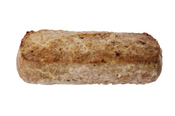 meat roll isolated