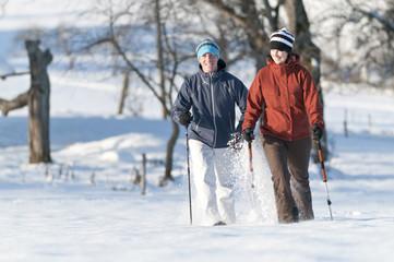 Sonntagsspaziergang im Schnee