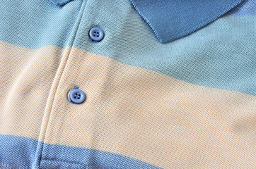 Maglietta polo, close up