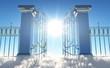 Leinwanddruck Bild - Heavens Gate