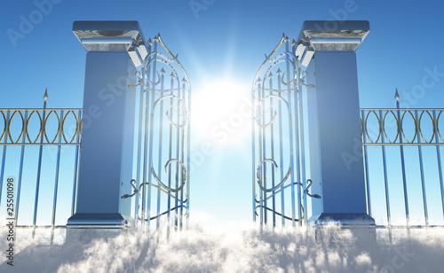 Leinwanddruck Bild Heavens Gate