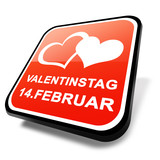 3d button valentinstag