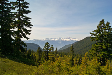 Mountain Landscape from Elfin Lakes Trail
