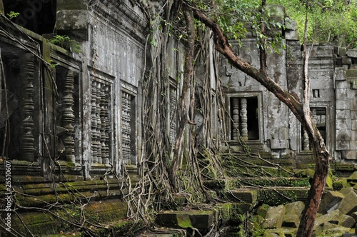 the secret jungle temple beng melea in cambodia