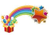 Fototapety vector illustration-celebration background