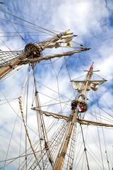 historical sail ship