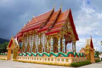 Buddhist temple of south Thailand