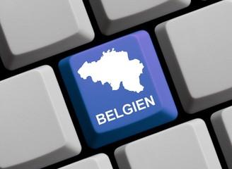 Rund um Belgien im Internet
