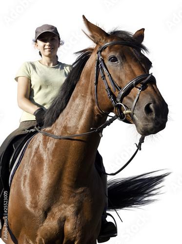 Fototapeten,pferd,reitend,reiter,frau